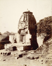 Wadhwan, Kathiawar. Ranik Devi's Temple from east